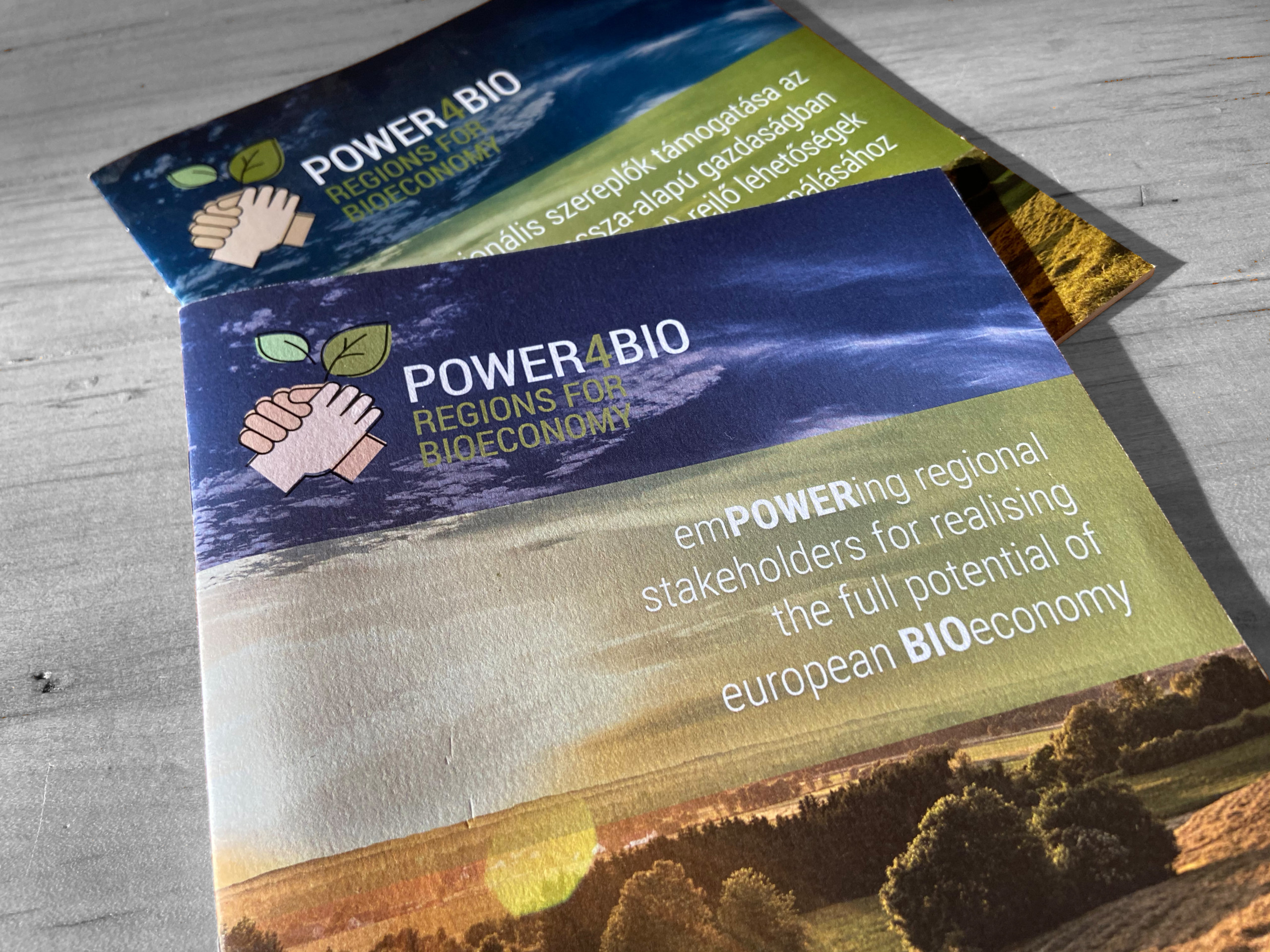 Power4Bio Broschüre Cover