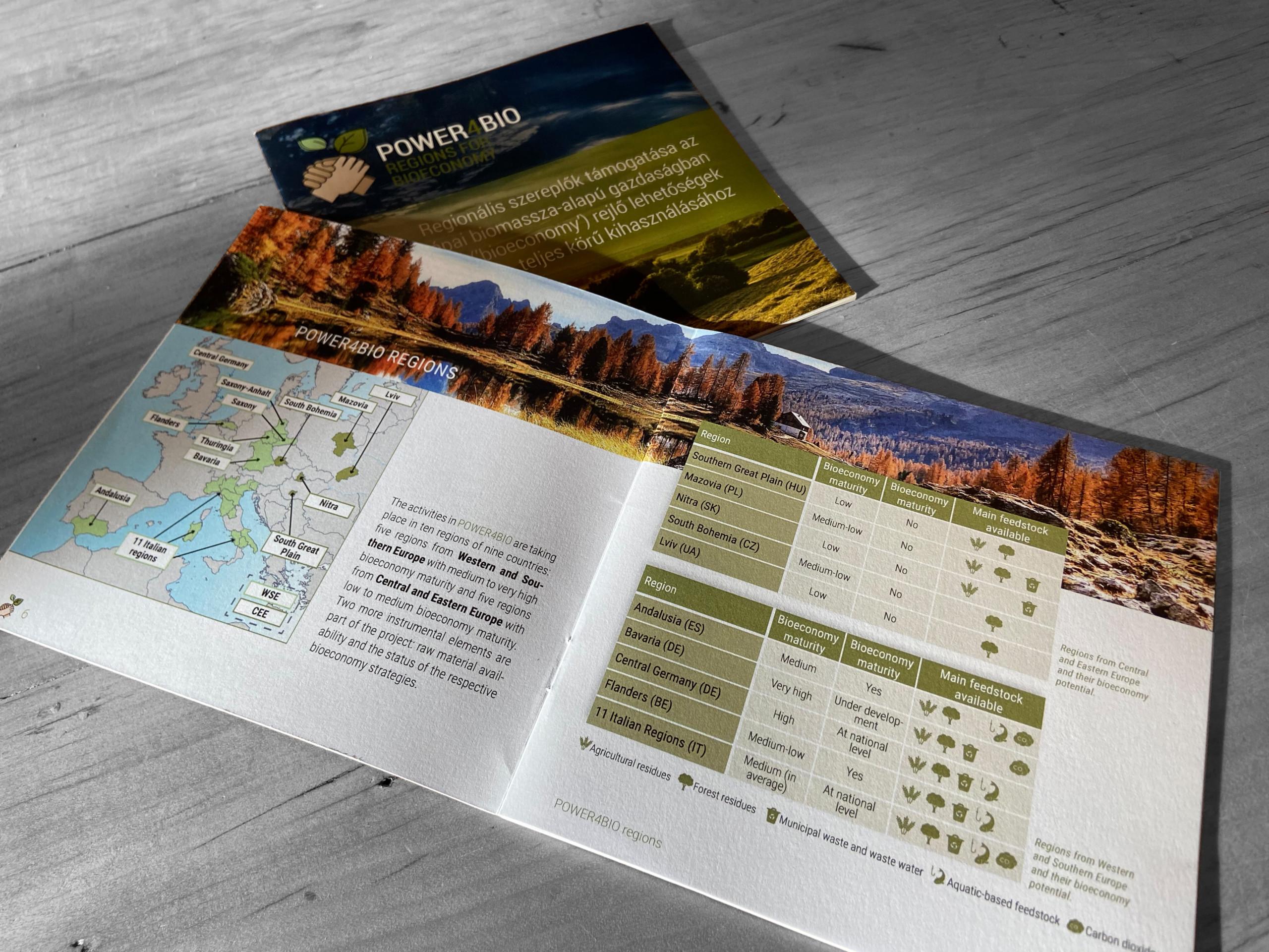 Power4Bio Broschüre Innenseiten