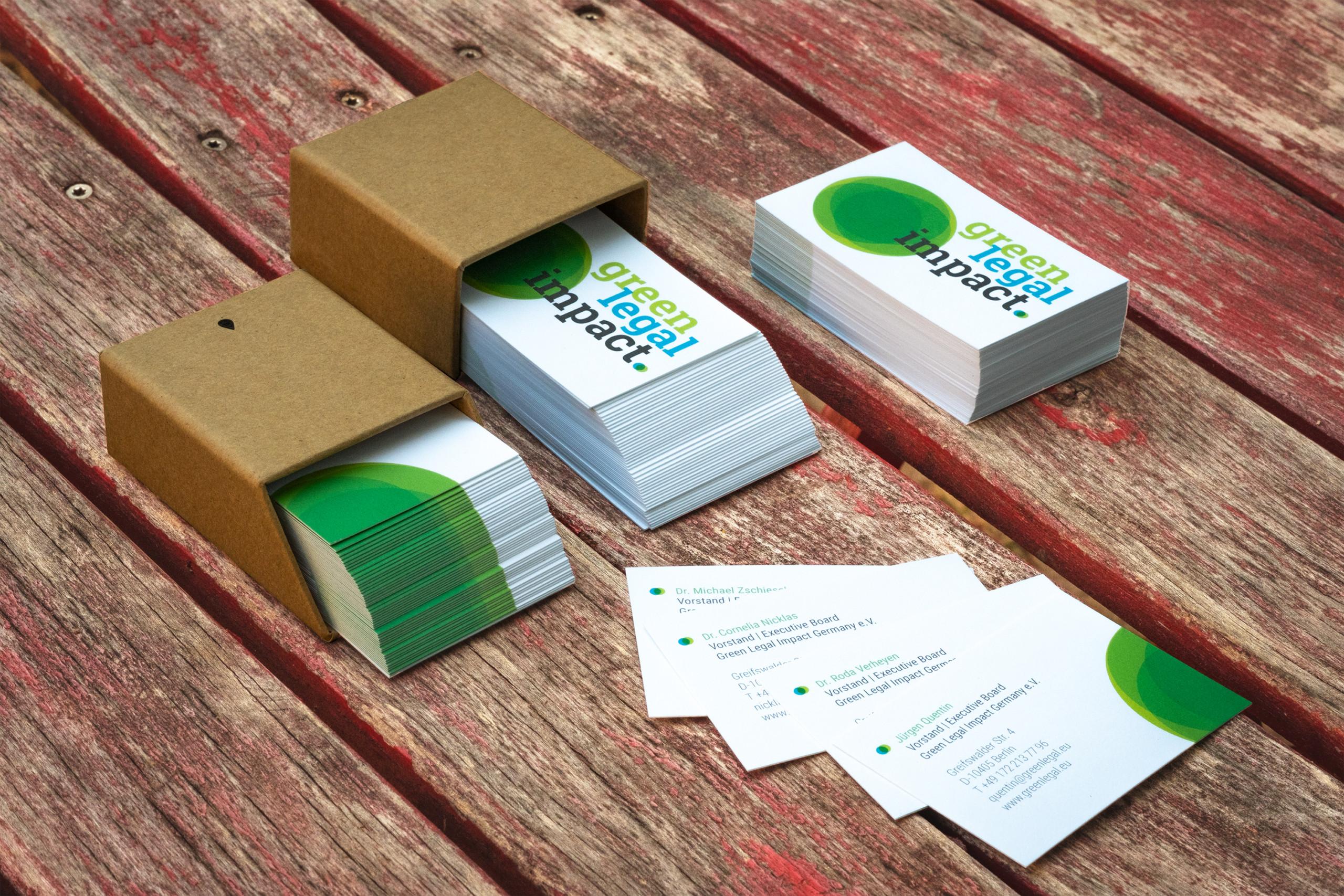 GreenLegalImpact - Entwurf Geschäftsausstattung