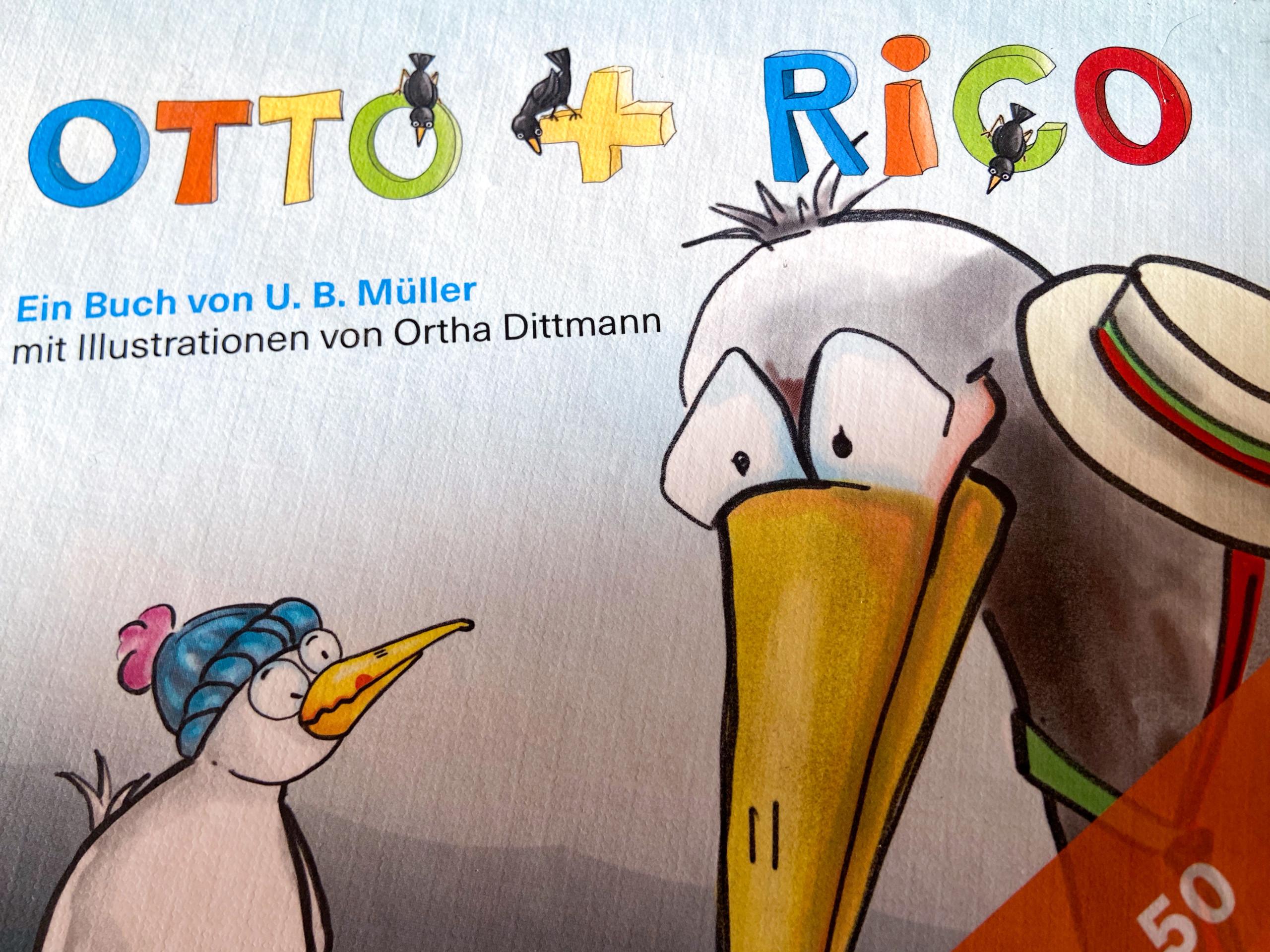 Otto umd Rico - Kinderbuch Cover