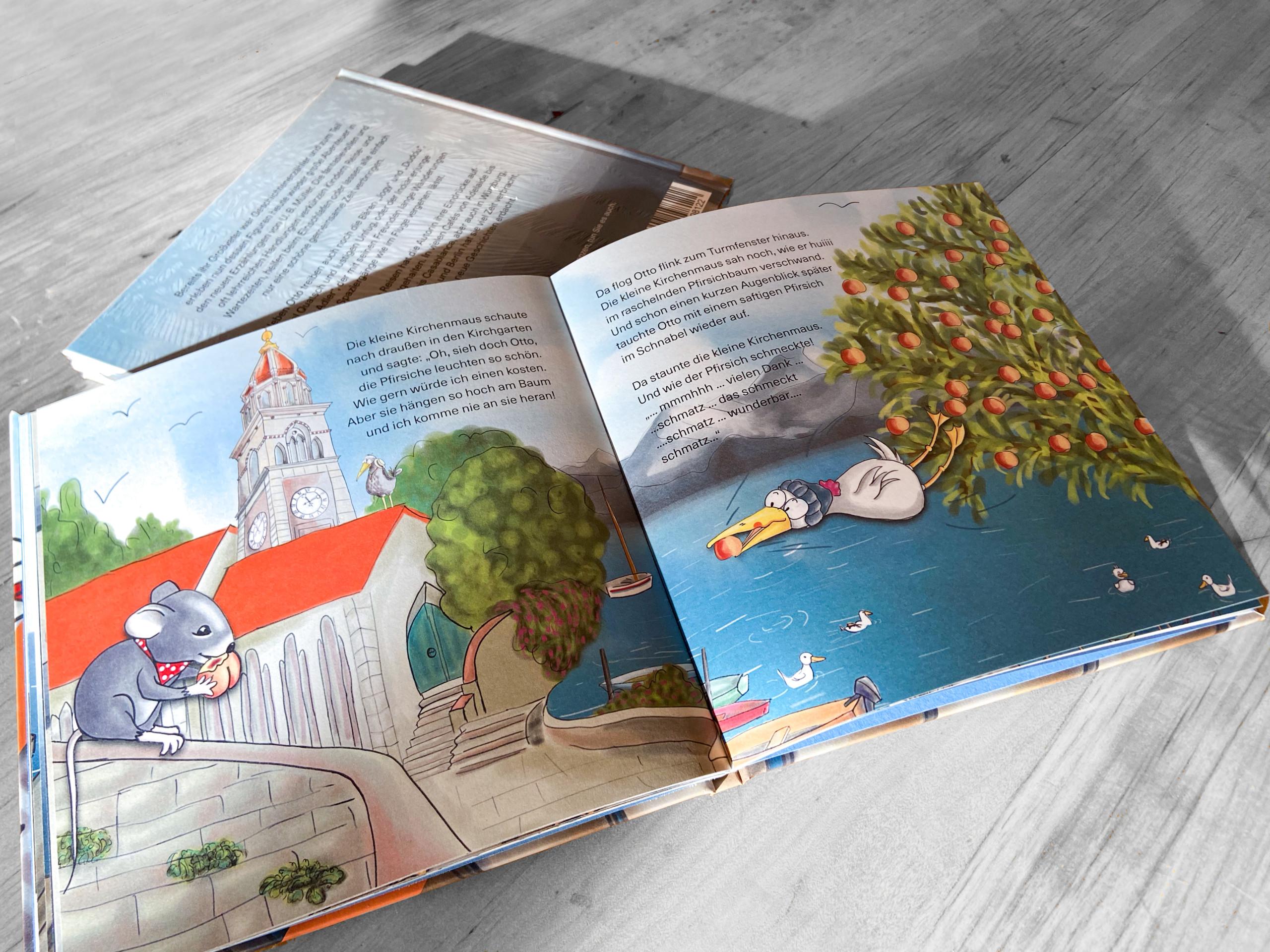 Otto umd Rico - Kinderbuch Innenseiten
