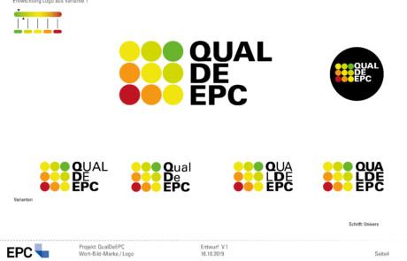 QualDeEPC-CD-Entwurf